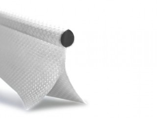 Keder 8mm Bead, 25mm Double flap, 7/7 material, White