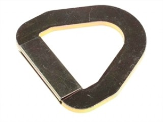 50mm D ring flat pressed, 5000Kg rating.