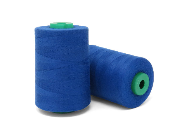 Polyester M75 Thread 5000m spool, Royal Blue