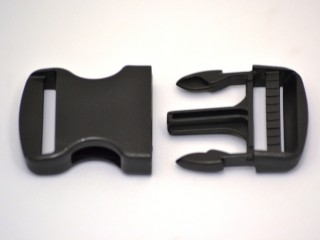 Side Release Buckle Curved Pack of 100