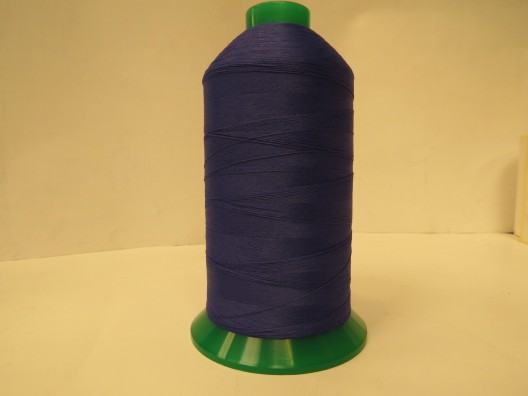 Texturised Polyester M80 Thread 5000m spool Royal Blue