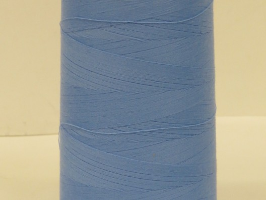 Polyester M75 Thread 5000m spool, Light Blue