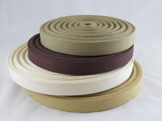 25mm Cotton Webbing 50m