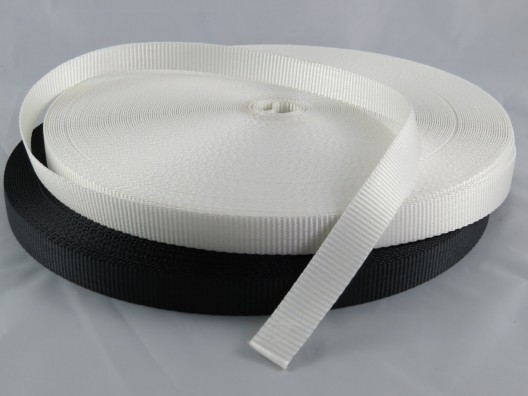 20mm Polyester Webbing Plain Weave 50m