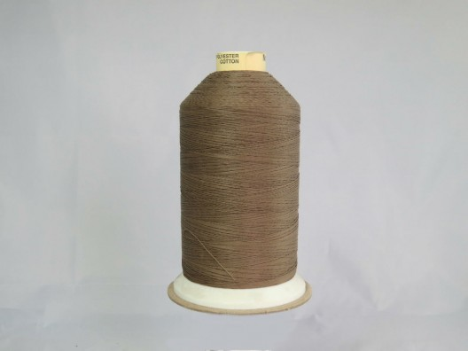 Polyester/Cotton Corespun Glace Thread M50 Beige