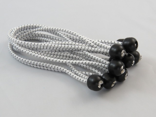 5mm Shock Cord Ball Tie Pack of 100
