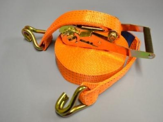 50mm Load Securing Strap 5000Kg rating with Claw Hooks