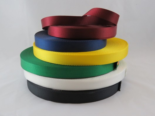 25mm Polyester Webbing Plain Weave 50m
