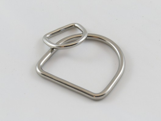 'D' Ring, Stainless Steel, Welded