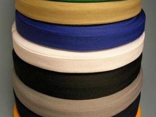 34mm Texturised Polyester Heat Set Binding Tape 100m
