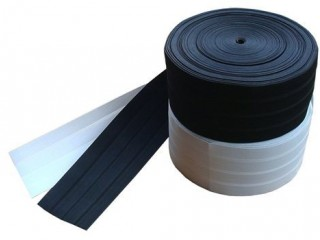 138mm Woven elastic webbing for flag banners 80m