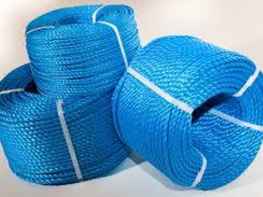 8mm Diameter Split film Polypropylene Rope (coils)