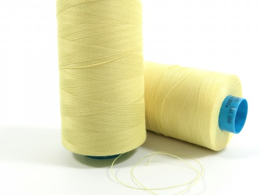 Kevlar Spun Nm50 Natural Yellow