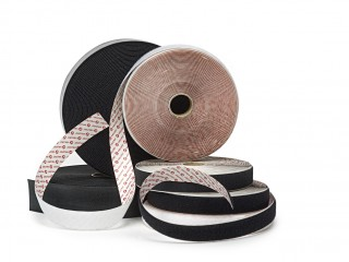 100mm VELCRO® Brand sew on hook and loop 25m