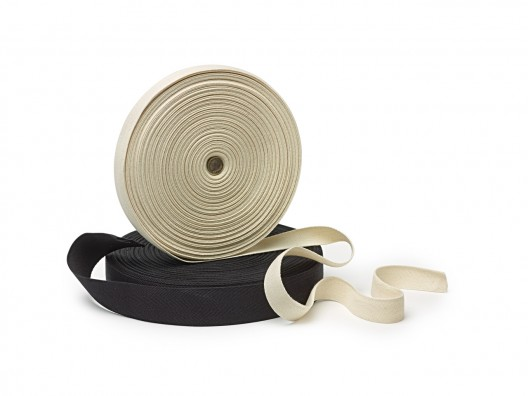 25mm Woven Cotton Tape 50m